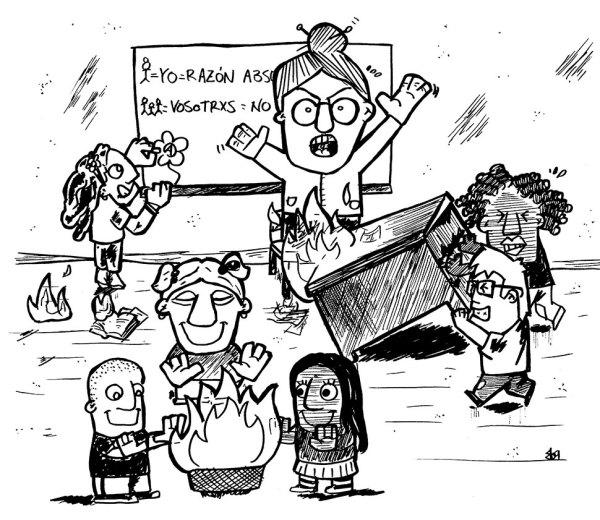 profesora-autoridad